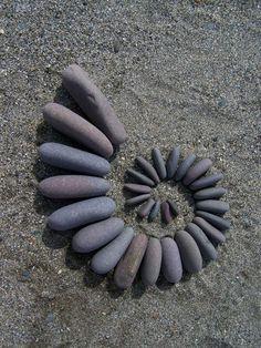 Pebble Spiral 5 by Dishtwiner on deviantART