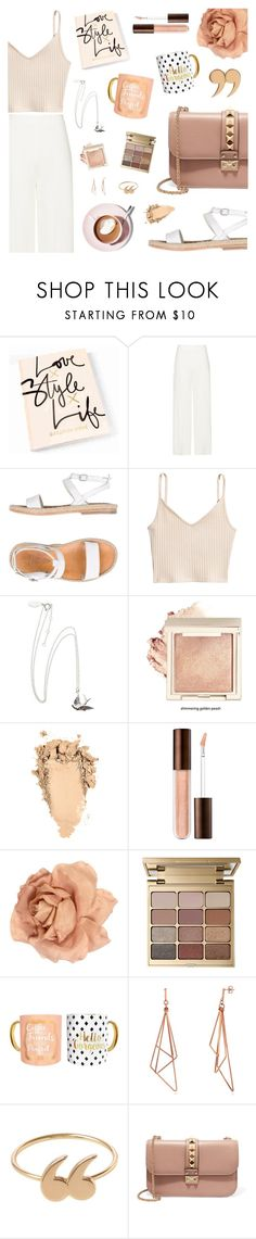 """But first, coffee"" by tsaniaardhani on Polyvore featuring n.d.c., Chanel, Stila, TMD, Martha Stewart, Love Is and Valentino"