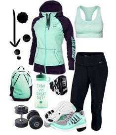 Sport outfit fashion athletic wear New Ideas Nike Outfits, Fitness Outfits, Fitness Fashion, Sport Outfits, Nike Workout Outfits, Nike Workout Gear, Yoga Workouts, Fitness Workouts, Workout Tanks