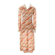 Emanuel Ungaro Parallele Paris Vintage Dress Documented 1970s