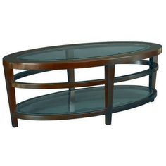 Hammary Urbana Oval Cocktail Table in Merlot ** Visit the image link more details.