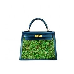 Kelly Bag by Hermes #green #hermes #bag #paillettes