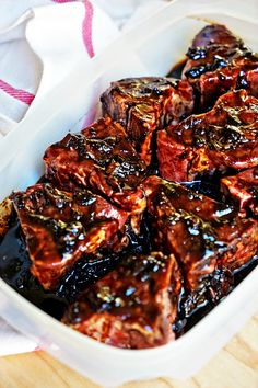 Roasted Garlic Balsamic Glazed Lamb Loin Chops This is so delicious, i will definitely make again! Lamb Loin Chops Oven, Lamb Chops Marinade, Roasted Lamb Chops, Grilled Lamb Chops, Roasted Garlic, Oven Baked Lamb Chops, Goat Recipes, Lamb Chop Recipes, Cooking Recipes