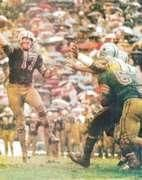 "Back even before  Archie Manning was scrambling for his life, old ""Furnace Face"" Billy Kilmer was dodging would-be tacklers and leading the Saints offense."