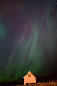 Aurora Boreal en #Islandia