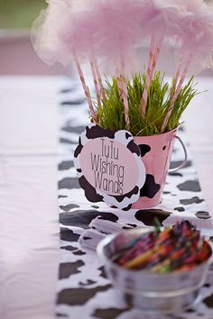 MooMoos & TuTus Second Birthday Party. All items available for recreation or purchase. Event planning services provided by Down Emery Lane. Cow Birthday Parties, Third Birthday Girl, Cowgirl Birthday, Farm Birthday, Birthday Tutu, Birthday Ideas, Cow Baby Showers, Elephant Party, Farm Party