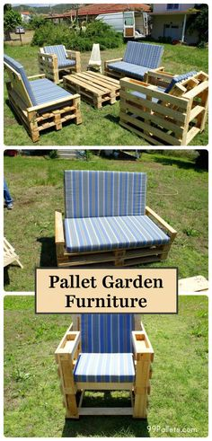 DIY Amazing Pallet Garden Furniture | 99 Pallets