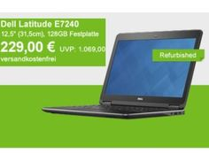 Allyouneed: Dell Latitude E7240 refurb mit 128 GByte-SSD für 229 Euro https://www.discountfan.de/artikel/technik_und_haushalt/allyouneed-dell-latitude-e7240-refurb-mit-128-gbyte-ssd-fuer-229-euro.php Als B-Ware-Deal der Woche ist jetzt via Allyouneed das Dell Latitude E7240 mit 128 GByte SSD, vier GByte RAM und 12,5-Zoll-Display für 229 Euro frei Haus zu haben. Ganz ohne Nachteile ist der Marken-Rechner aber nicht. Allyouneed: Dell Latitude E7240 refurb mit 128 GByte-SSD