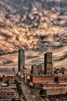 Oklahoma City Skyline by Thomas R. Tucker - Fine Art Photography