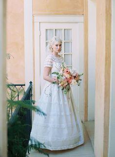 Insanely pretty wedding dresses from @millcrestvintag. #wcriseandshine #vintage