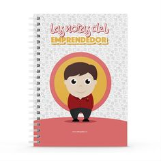 Cuaderno XL - Las notas del emprendedor, encuentra este producto en nuestra tienda online y personalízalo con un nombre. Notebook, Cover, Engineer, Notebooks, Report Cards, Store, Cover Pages, The Notebook, Exercise Book