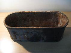 Antique iron Jardenière - planter...rectangular c. 1880! #ArtNouveau