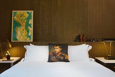 Em Seattle, Palladian Hotel mistura design elegante e cultura pop;