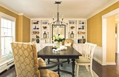 Extraordinary Dining Room Creative Living Room Design With Yellow Paint On The