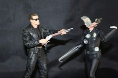 A scene from Terminator 2: Judgement Day