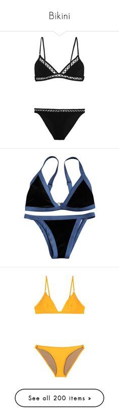 """Bikini"" by novemberfourteen ❤ liked on Polyvore featuring swimwear, bikinis, zimmermann swimwear, triangle bikinis, triangle swim wear, zimmermann, bikini swim wear, bikini, swimsuit and bathing suits"