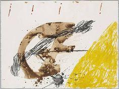 by Antoni Tàpies