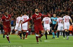 Mohamed Salah completed the turnaround and it seemed Liverpool would go on to win