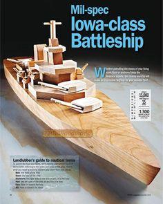 игрушка военный корабль из дерева