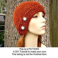 knit cloche pattern - Google Search