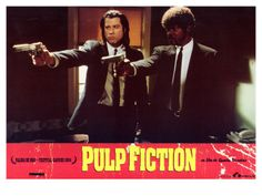 Pulp Fiction, Spanish Movie Poster, 1994