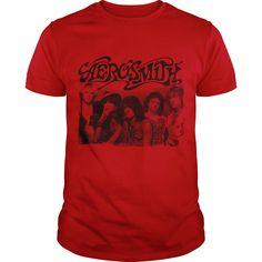 (Tshirt Coupons) Aerosmith 1980s Photo [TShirt 2016] Hoodies, Funny Tee Shirts