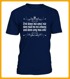 Erst dean ma amoi nix - Oktoberfest shirts (*Partner-Link)
