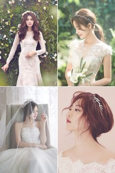 Wedding Venues Dallas – Bridal Hair Half Up Half Down Plait concerning Wedding C… - wedding hairstyles Korean Wedding Makeup, Bridal Hair And Makeup, Bridal Beauty, Korean Makeup, Wedding Headband, Wedding Hair Pins, Make Up Looks, Bride Hairstyles, Trendy Hairstyles