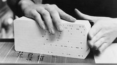 Tech Time Warp of the Week: Relive the Days When Apps Were Cards Punched Full of Holes   Enterprise   WIRED