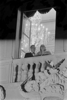 ♥ 1956 Prins Rainier en Grace Kelly
