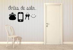 "Nuevo Vinilo decorativo ""Antes de Salir"""