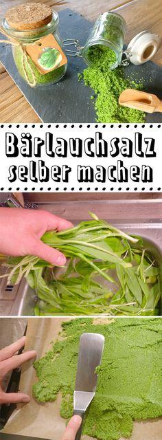 So schmeckt der #Frühling! Mit Bärlauchsalz kannst du den Geschmack von #Bärlauch bis in den Sommer hinein genießen. Auch toll als #Geschenk aus der Küche.