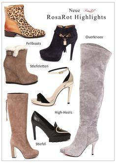 Das Gefühl von Luxus und Eleganz umgibt jede Frau, die RosaRot Schuhe  trägt. Die neuen Stiefel, Stiefeletten und Ankleboots für Herbst-Winter  2015-2016 ... 6a49329bfc