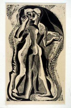 Two people | Gertrude Hermes | 1933 | Wood engraving