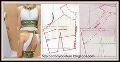 Tema 53 Vestido cuerpo drapeado | Aprender manualidades es facilisimo.com