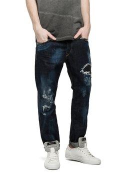 Men's Slim Antifit Jeans - EZIO V180F60 - Replay