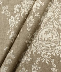 Waverly Country House Linen Fabric : Image 3