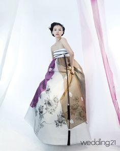 [한복] 한폭의 수묵화 같은 황희우리옷 - 웨프뉴스  -치마만...위에 저고리는 있어야징..