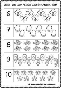 173 En Iyi Say Boya Görüntüsü 2019 Kindergarten Learning Ve Math