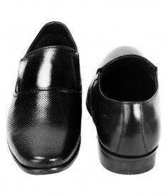 LEONARDO SLIP ON BLACK (2)