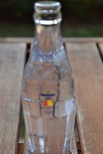 RARE COCA COLA COKE 2010 VANCOUVER OLYMPICS LEAD CRYSTAL BOTTLE