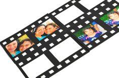 READY TO SHIP Filmstrip negative frame die cuts. Black