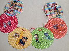 Paw Patrol Personalized Name Banner for by CreativeLaminations