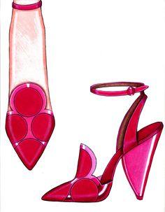 suede + translucent heel illustration: steve goss s.s2013
