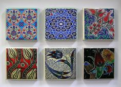 Turkish Ceramic Magnets Ornaments for by MineHomeDecoration, $2.50