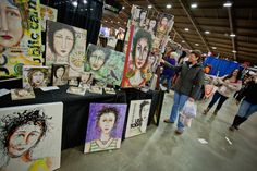 One-of-a-kind fine art: I can't wait to see products like this at An Affair of the Heart of Tulsa.