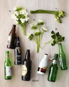 St. Patrick's Day Beer Bottle DIY - Tulipina