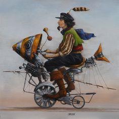 Catherine Chauloux - Les poissoncyclette