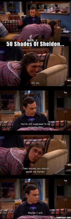 sheldon cooper spanks Amy Ferrah Fowler, funny big bang theory