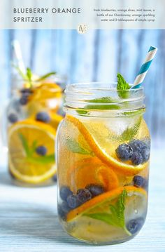 This Blueberry Orange Spritzer made with our Edna Valley Chardonnay and served…